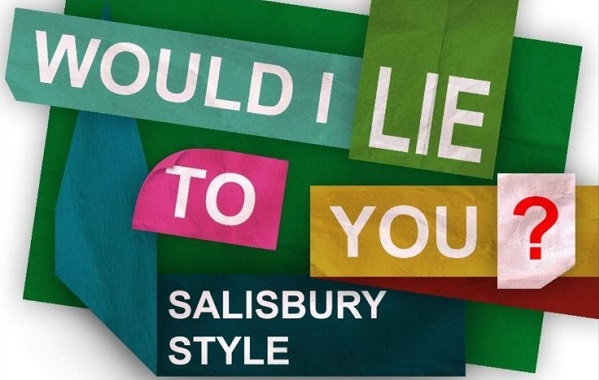 Would I lie to you event